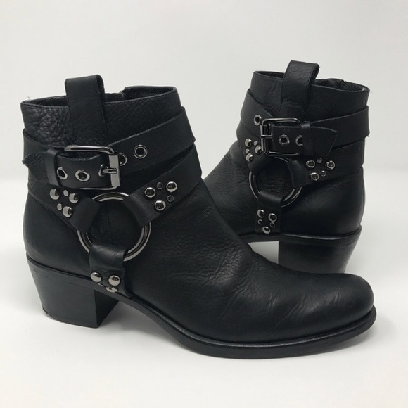 Cole Haan G Series Harness Moto Boots